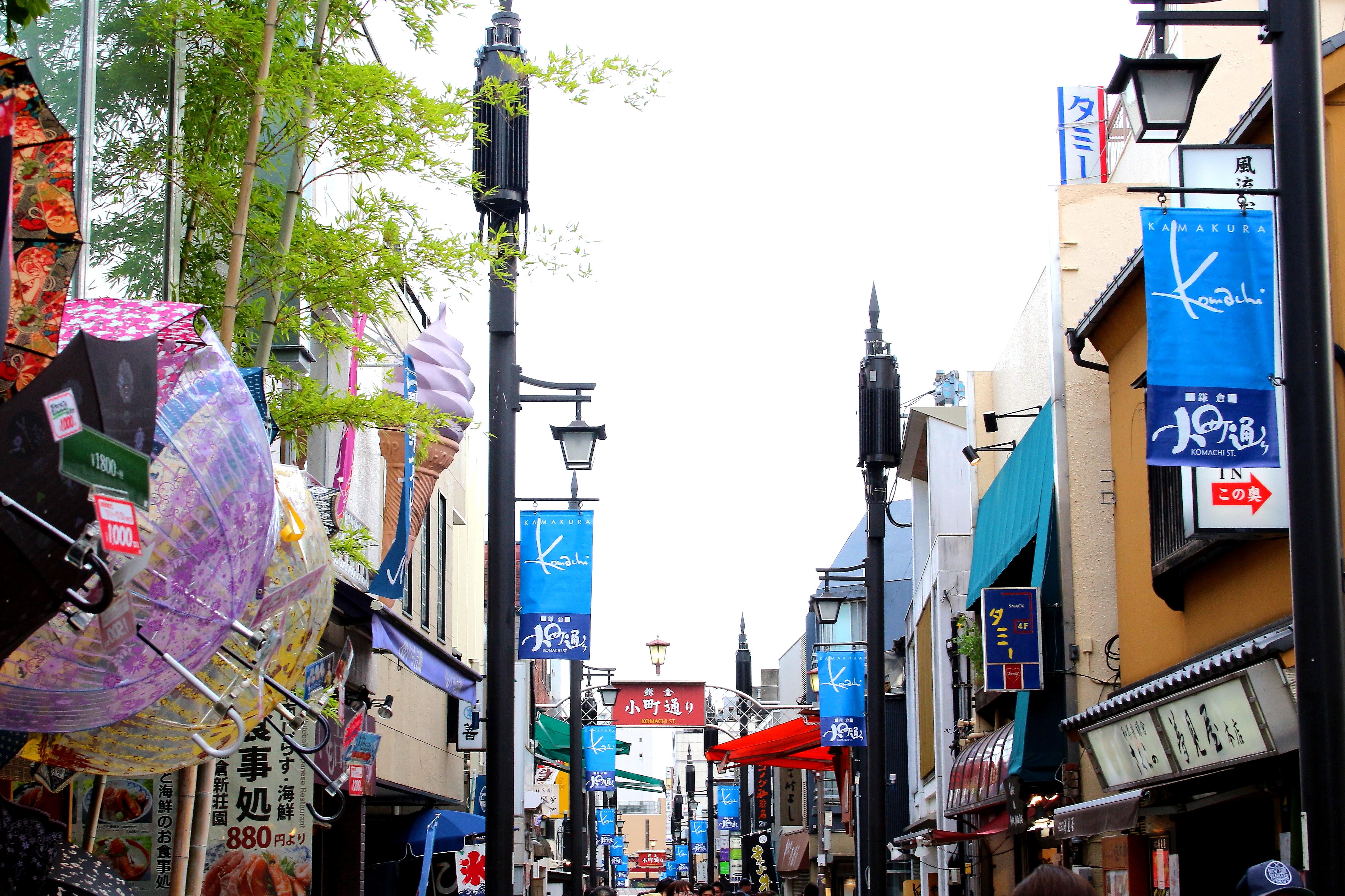 鎌倉で食べ歩きするなら?おすすめのコースやエリアを紹介!