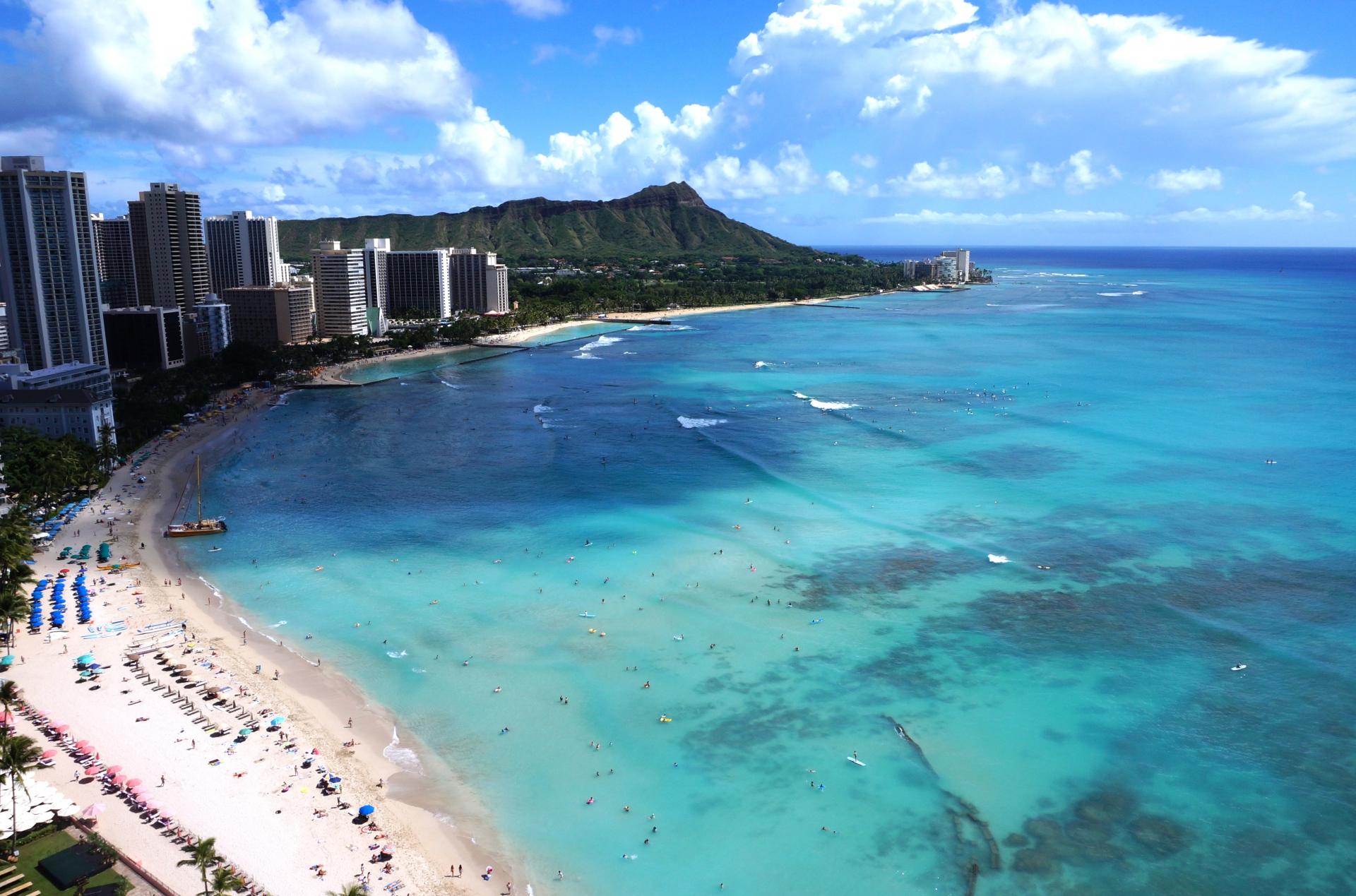 ハワイのトロリーバスは観光に便利!乗り放題もあり!料金は?