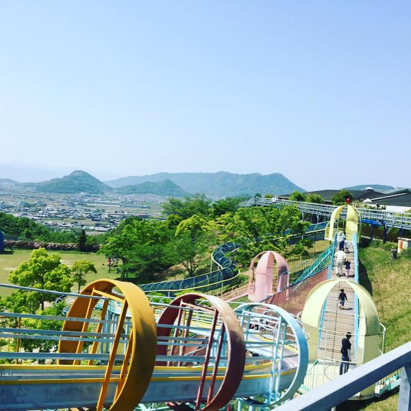 香川県のふれあいパークみのは公園のような道の駅!温泉・プールあり!