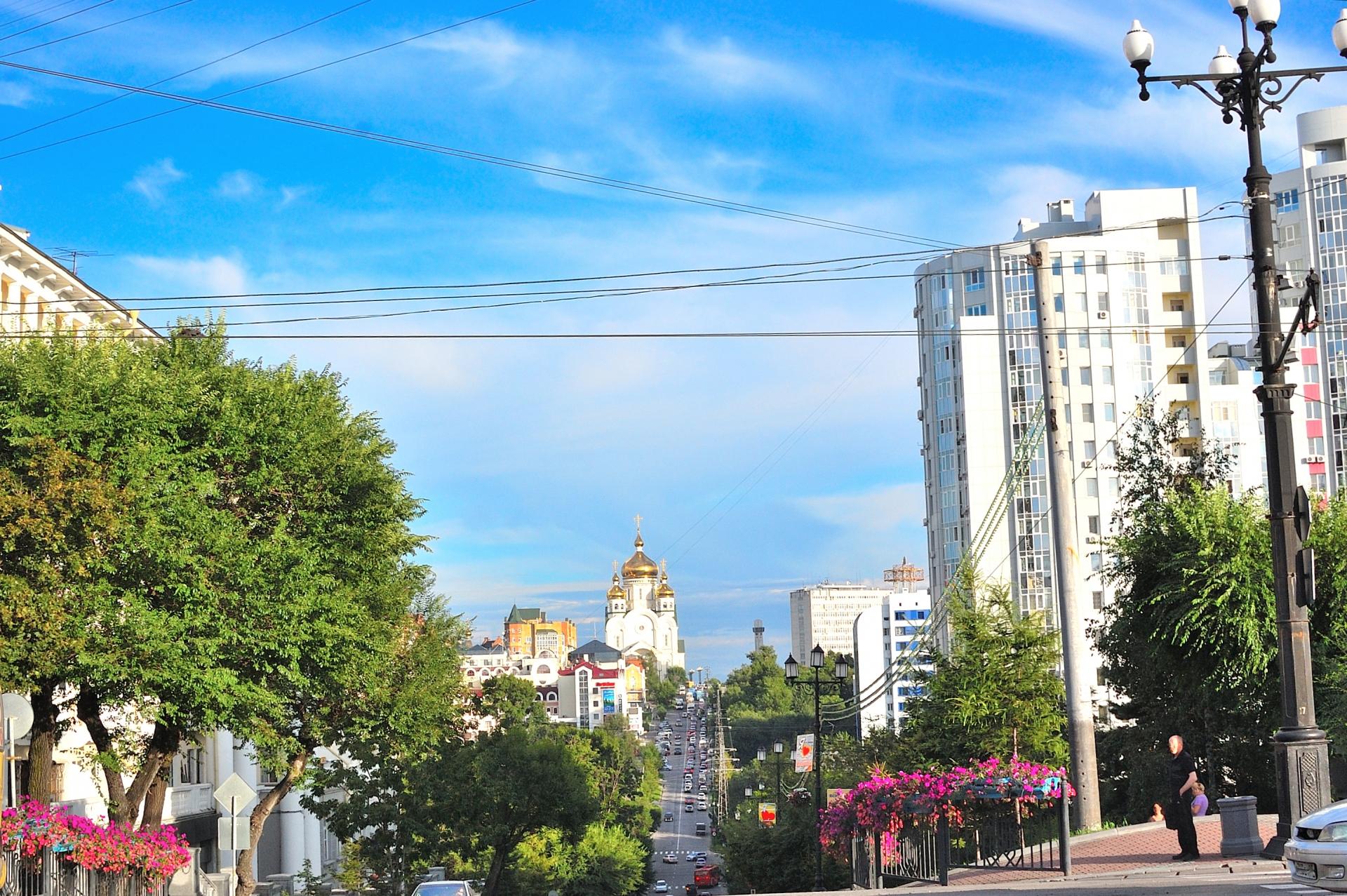 ハバロフスク観光旅行のポイント!アクセスや治安は?身近なヨーロッパ?