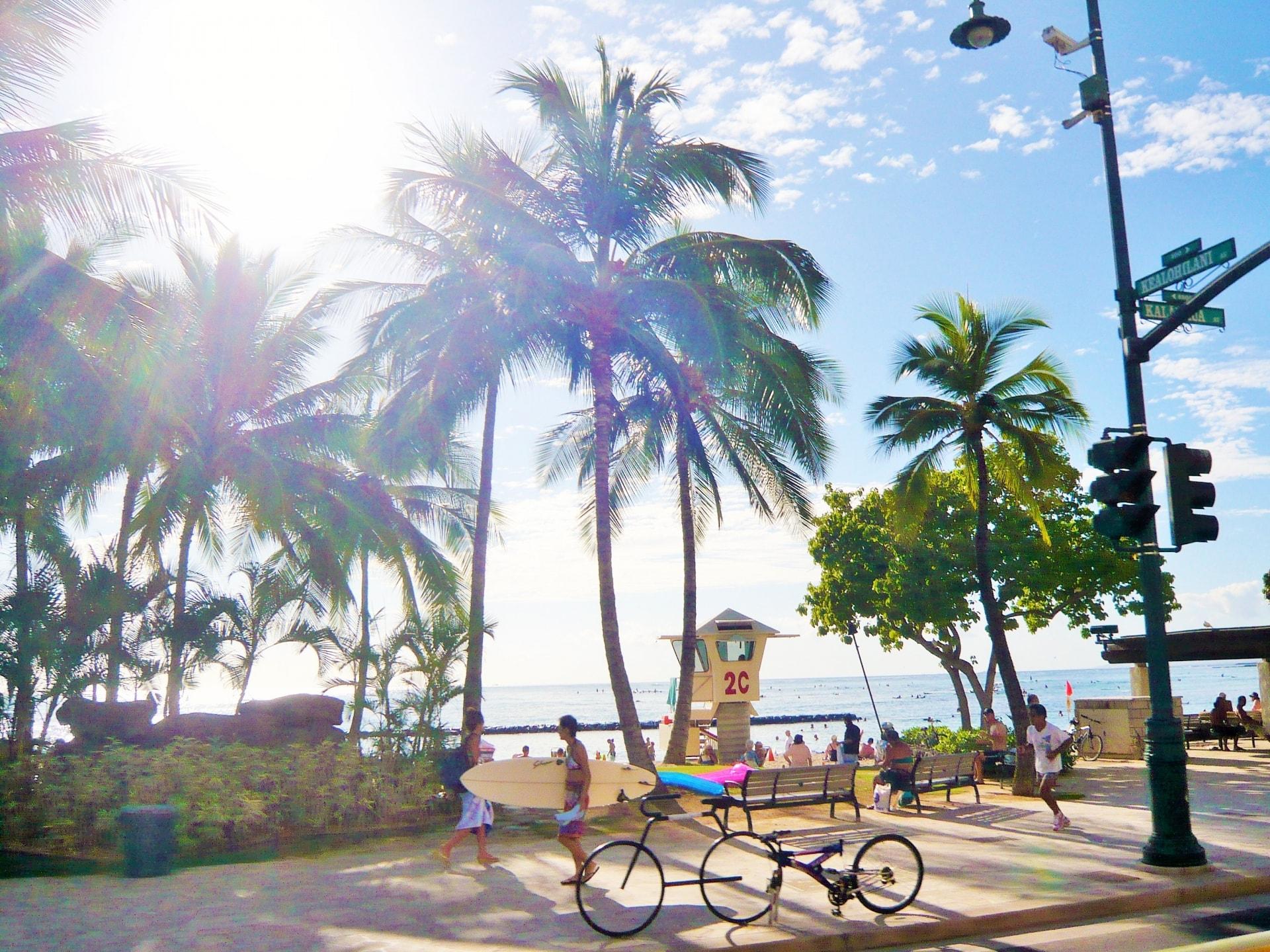 ワイキキビーチウォーク!ハワイのお土産やグルメはここ!人気ショップまとめ!