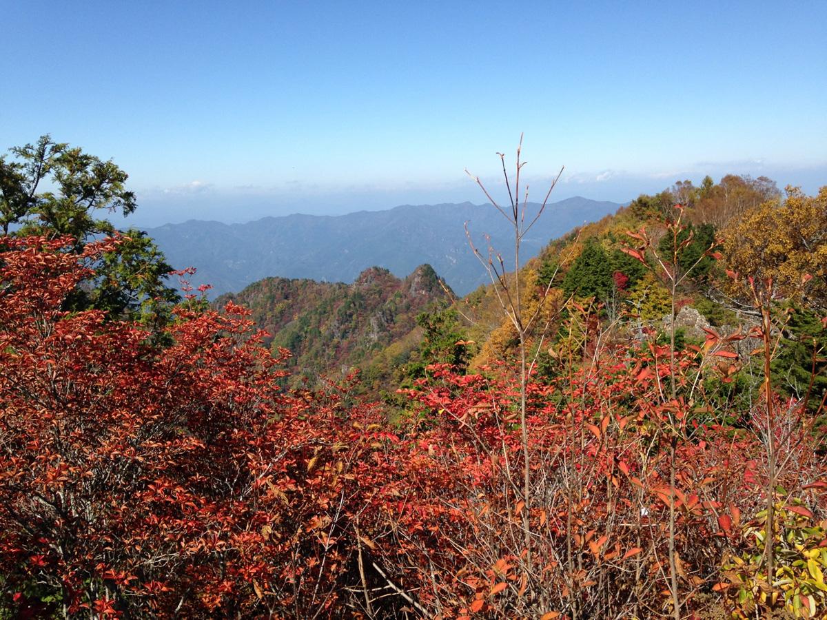 大岳山登山のルートや難易度を紹介!紅葉の季節がおすすめ!