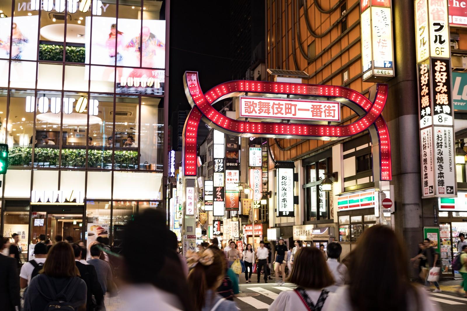 歌舞伎町の治安は?注意したいポイントを調査!女性の一人歩きは避けるべき?