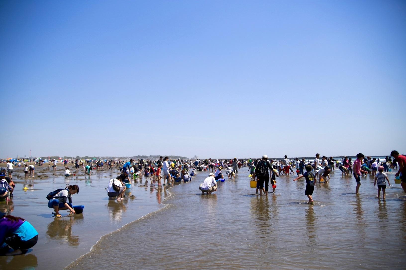 潮干狩りには茨城の穴場がおすすめ!時間や時期に無料スポットもご紹介!