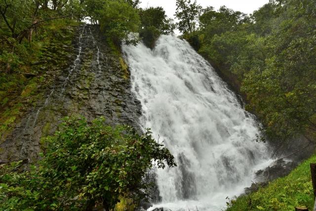 オシンコシンの滝の見どころをご紹介!アクセスや見学にかかる時間は?