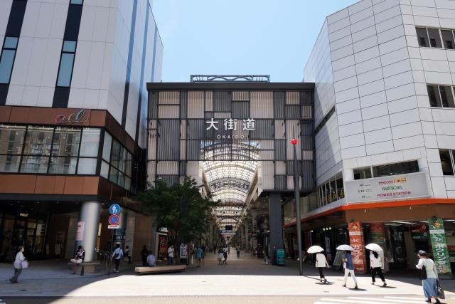 松山大街道商店街を散策!人気グルメの食べ歩きや観光も楽しい!