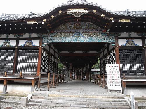 「御香宮神社」へ参拝!安産祈願やお宮参りにも人気の桜の名所!