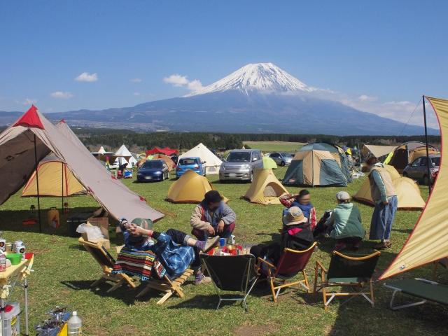 新富士オートキャンプ場は口コミ評価が高い人気スポット!バンガローもおすすめ!