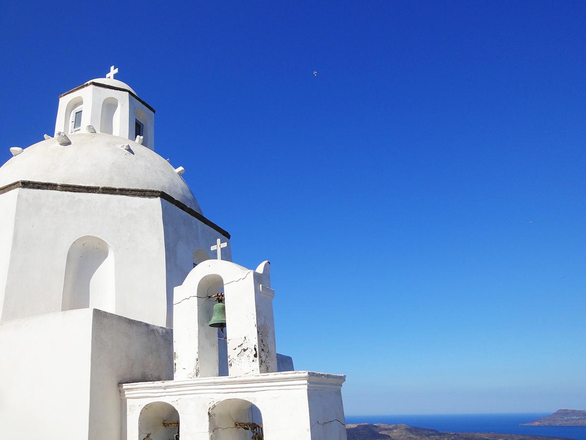 未来心の丘はSNS映え抜群の絶景スポット!ギリシャのような幻想的な風景が魅力