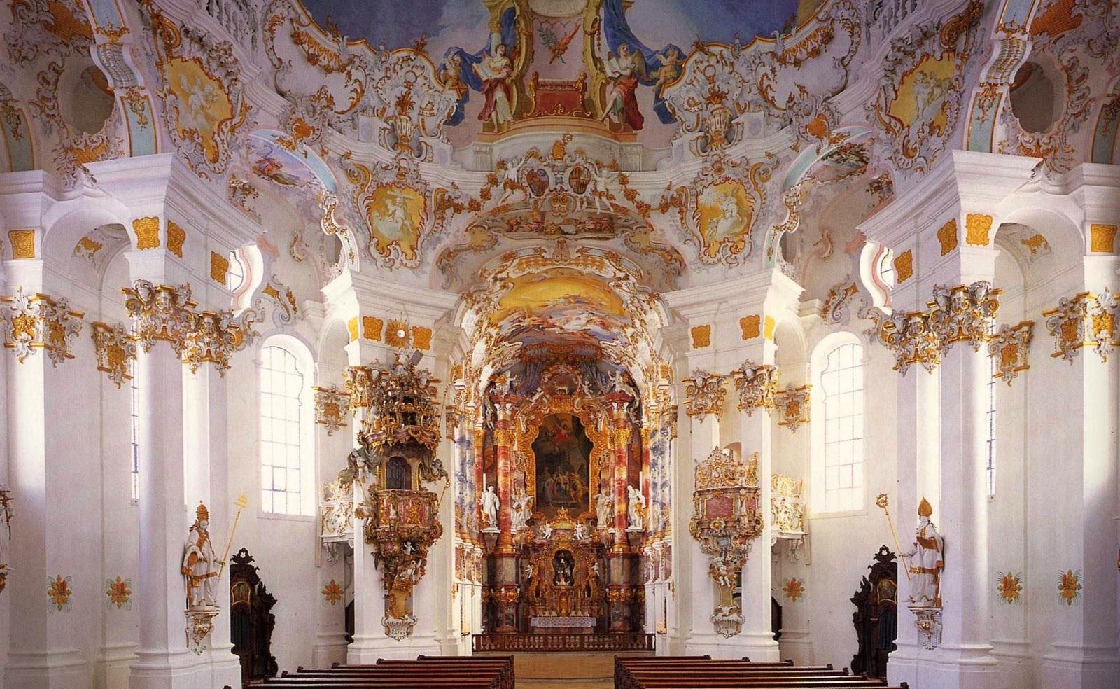 ヴィース教会はドイツの歴史的建造物!見どころや行き方も紹介!