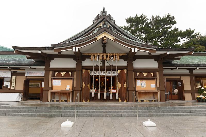 亀山八幡宮は野球の神様で有名な下関のパワースポット!御朱印やご利益は?