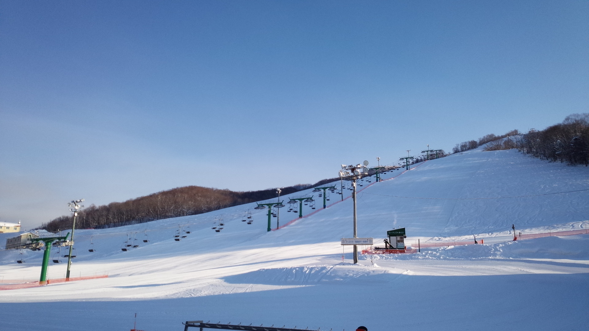 ぴっぷスキー場は初心者でも楽しめる!充実したコースでナイター利用も!