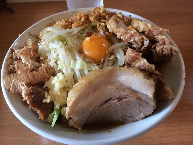 新宿の二郎系ラーメン店ランキングTOP9!美味しいと評判の人気店ばかり!