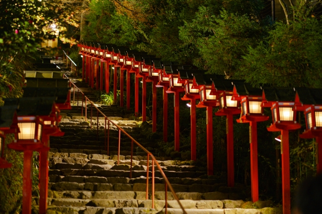 【2020】貴船神社のライトアップ情報まとめ!観られる期間や時間帯は?