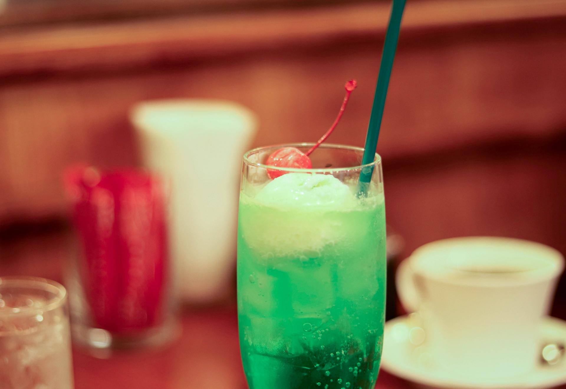 「ゆりあぺむぺる」のクリームソーダが大人気!吉祥寺のレトロな喫茶店を紹介!