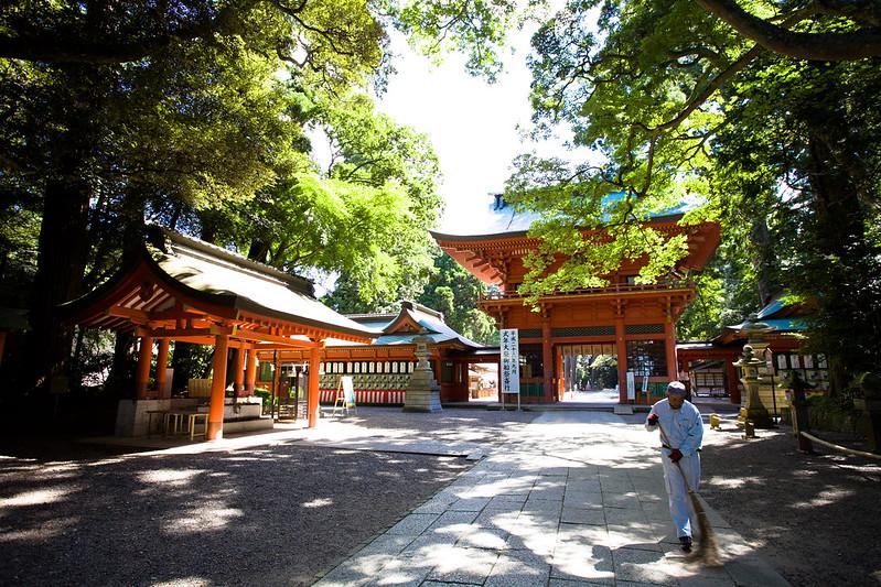 【鹿島神宮】駐車場を徹底調査!無料や安い場所や近くて便利な所は?