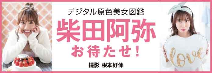 デジタル原色美女図鑑 柴田阿弥 お待たせ!