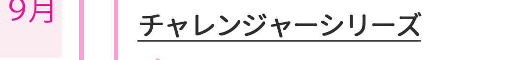 チャレンジャーシリーズ