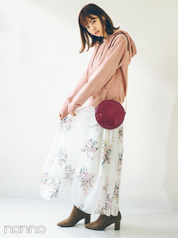 2019春トレンドのくすみ系ピンク13選★西野七瀬のコーデがお手本!
