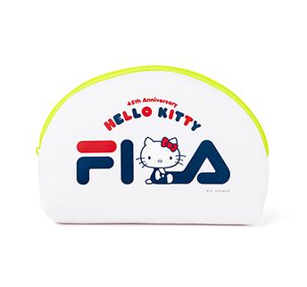 Hello Kitty×Seventeen×FILA ネオンジップなごきげんポーチ