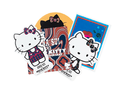 Hello Kitty×SPUR×ANNA SUI ステッカーセット