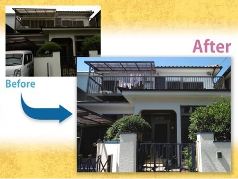 【施工事例】 外壁塗装・付帯工事N様邸