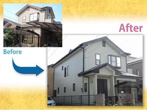 【施工事例】外壁屋根塗装 A様邸