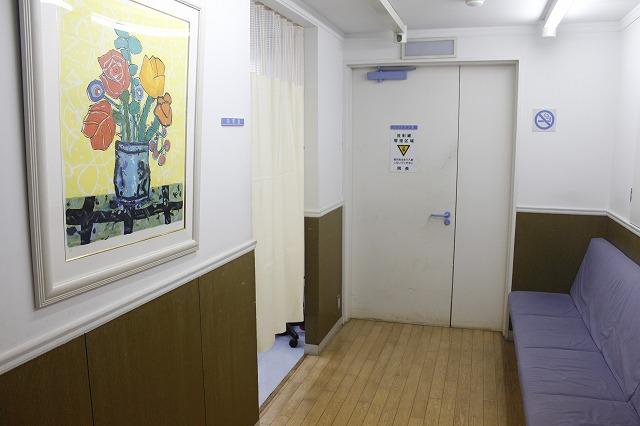 レントゲン待合室