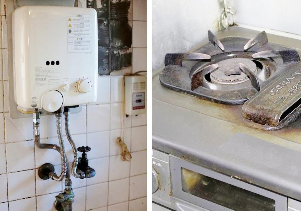 湯沸かし器・ガスコンロの処分・買取