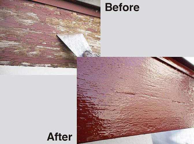 木部塗装 施工事例