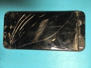 【修理事例】ガラス割れBefore(行徳)