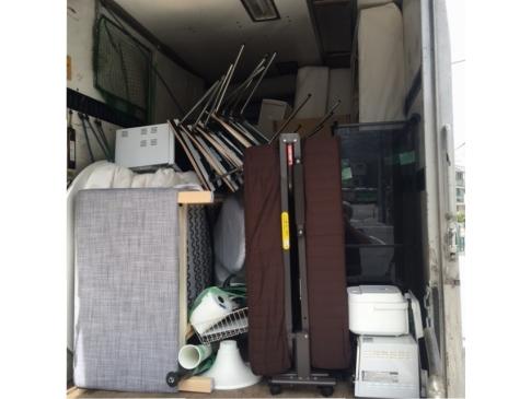 【不用品回収事例】マンション1室まとめて不用品回収