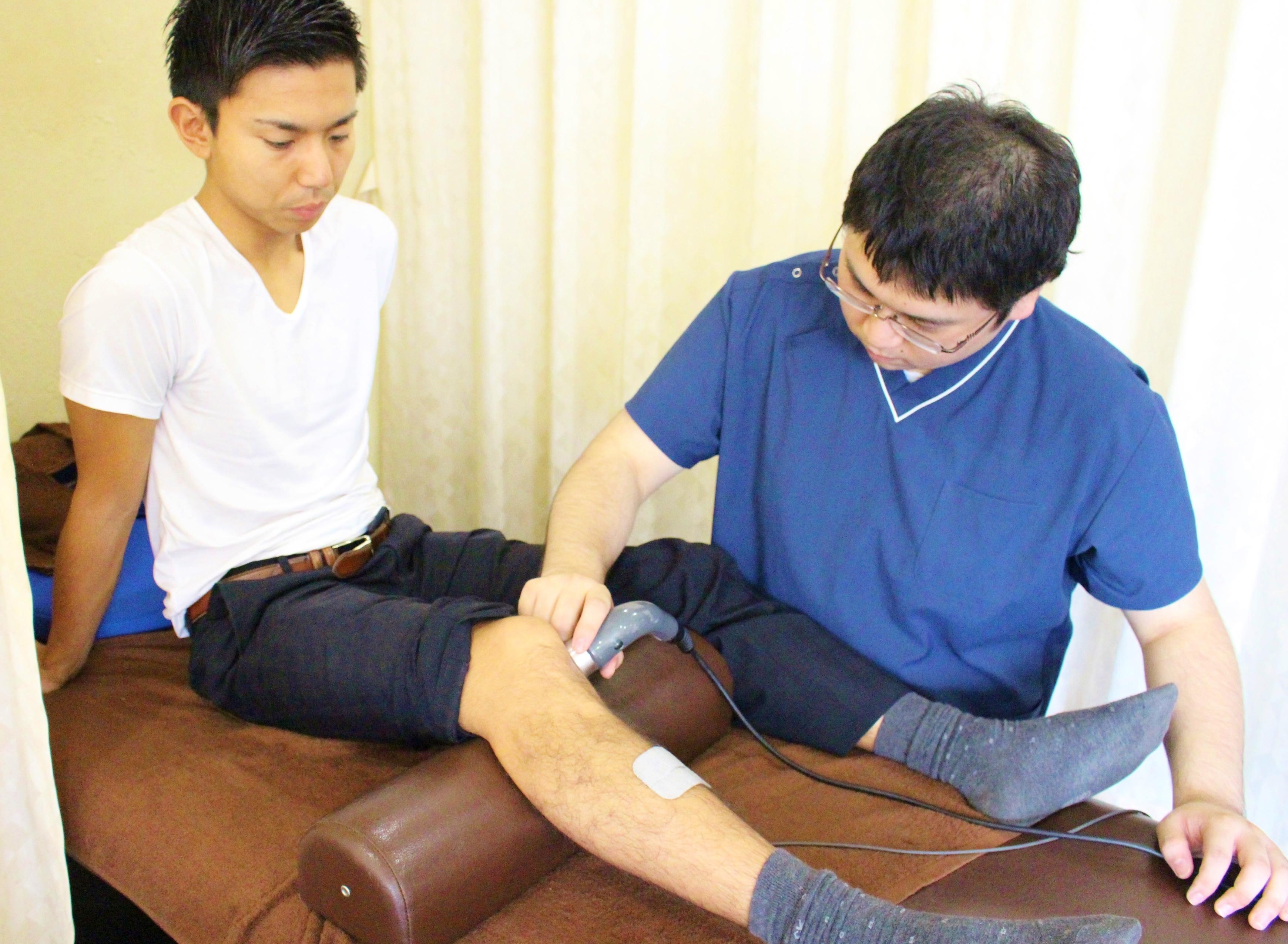 手技療法と電気治療を組み合わせた「コンビネーション治療」をぜひお試しください!
