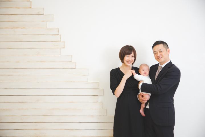 家族写真 オリジナルデザインでの年賀状制作も承ります♪