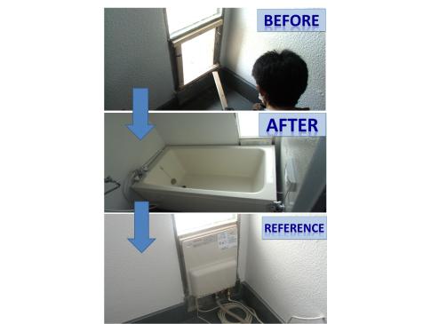 【施工事例】K様邸:壁貫通型給湯器 新設