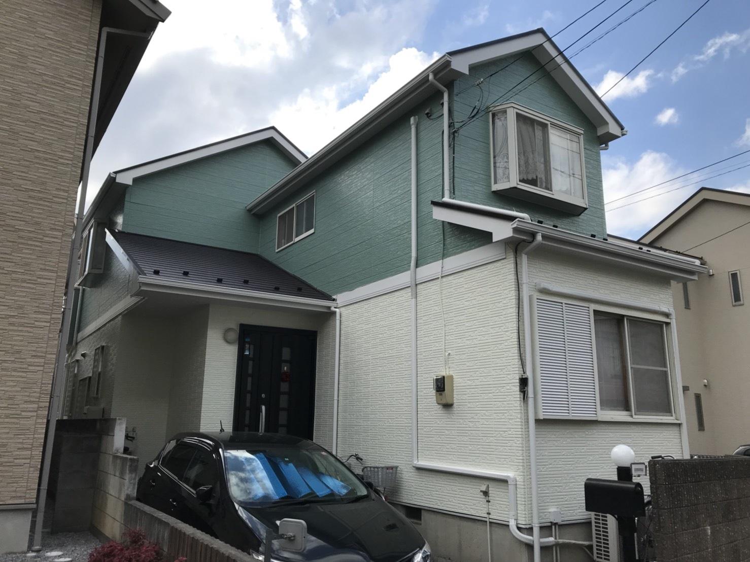 【外壁・屋根塗装事例】川口市 K様邸