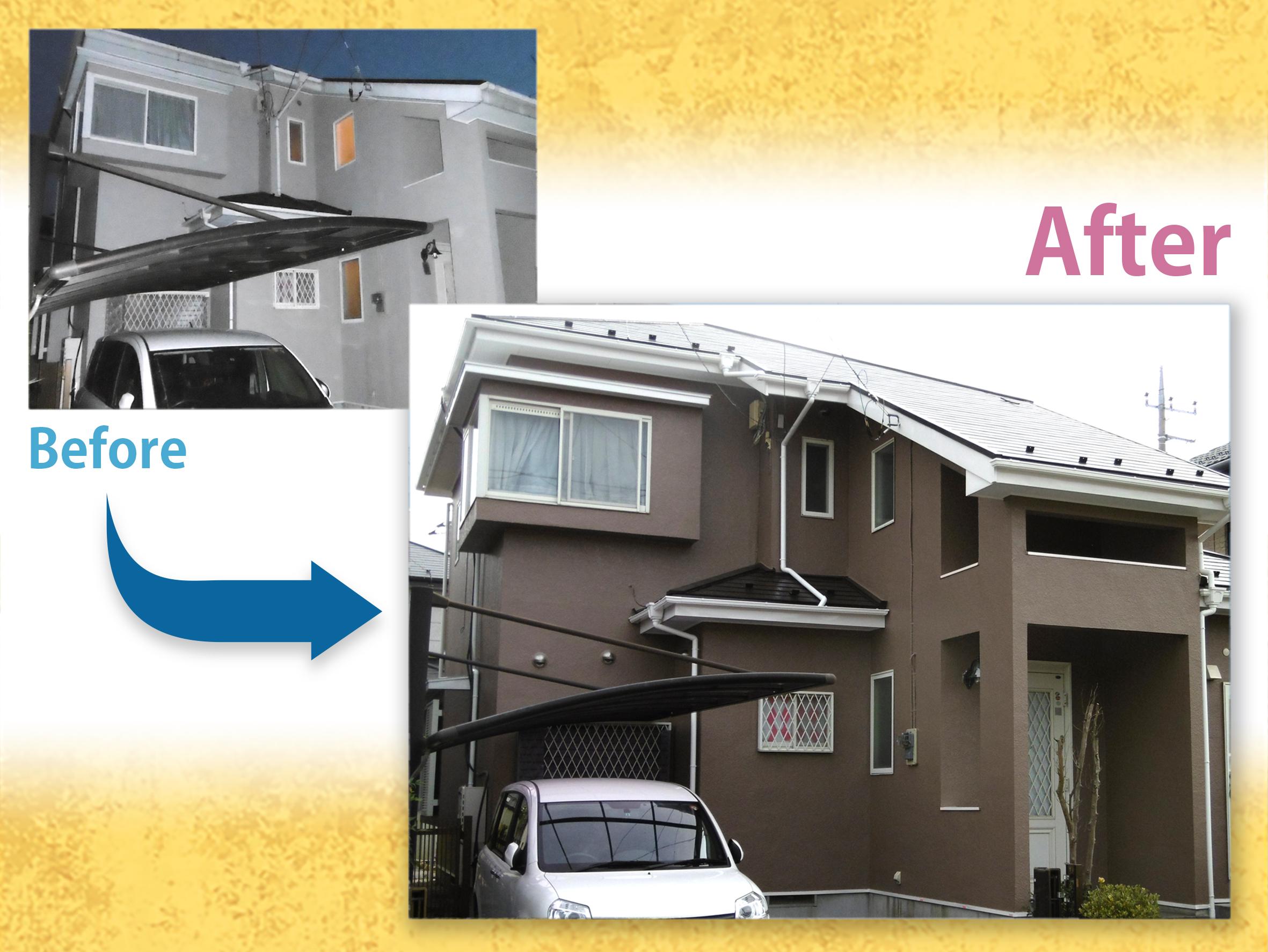 【施工事例】 外壁・屋根塗装 I様邸