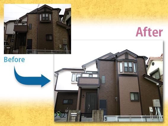 【施工事例】外壁・屋根塗装 F様邸