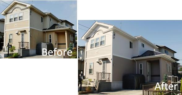 施工事例(H邸/酒々井町)外壁屋根塗装