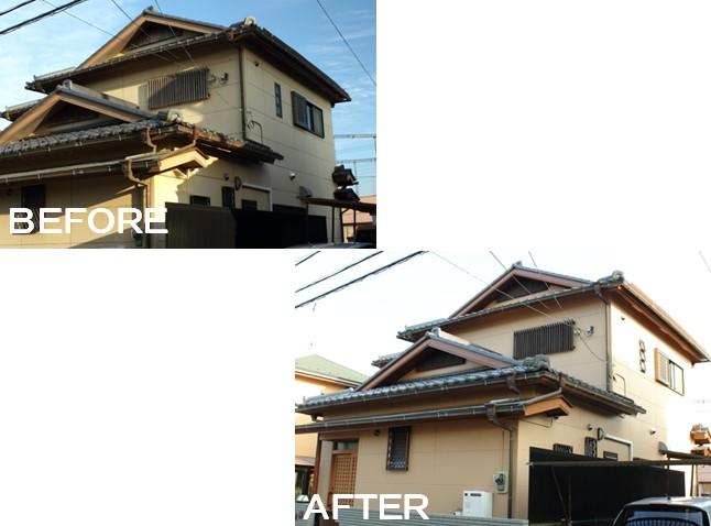 施工事例(B邸/佐倉市)外壁塗装