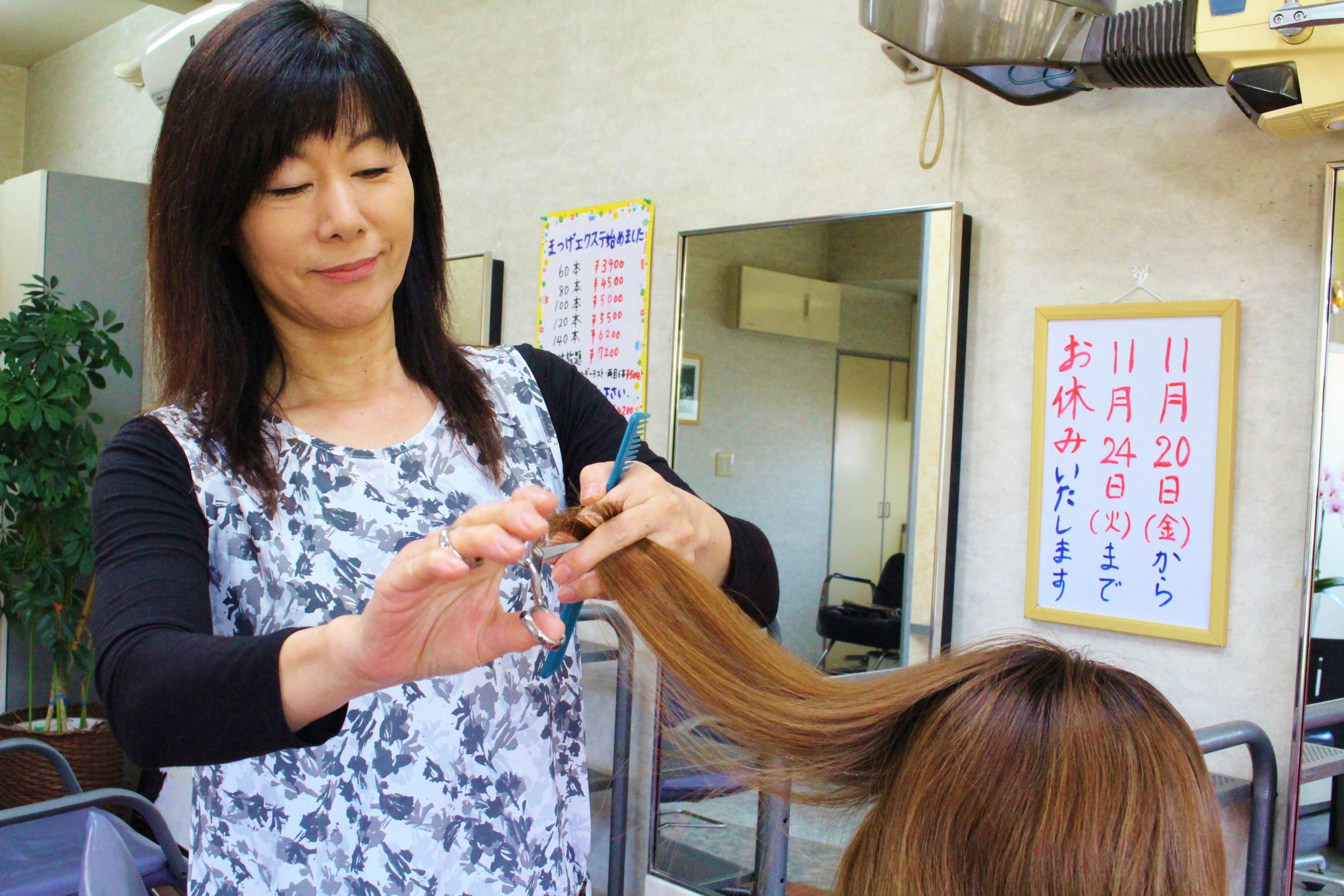 一般的なヘアカラーから白髪染めに適した髪が痛みにくいヘアカラーまで様々!