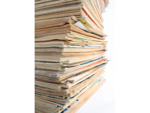 オフィスから出る不要品回収も。必要がなくなった文書や書類なども安全に処分します