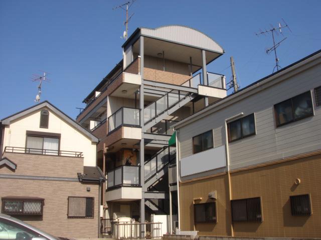 【施工事例】ビル階段鉄部塗装工事
