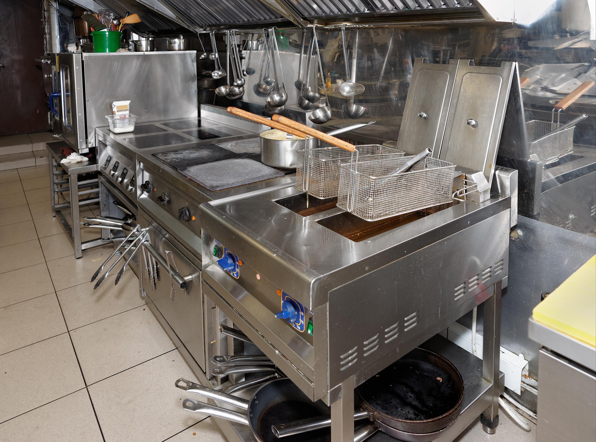 厨房機器の処分/買取