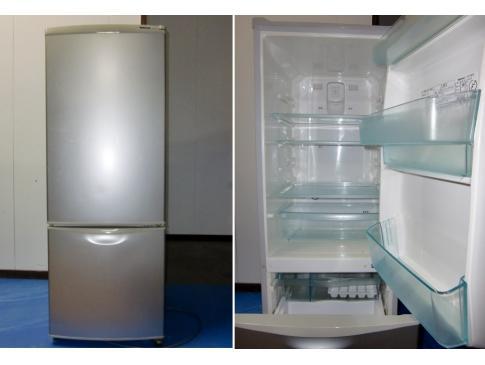 買い替えで不要になった冷蔵庫を回収(状態が良く買い取りしました)