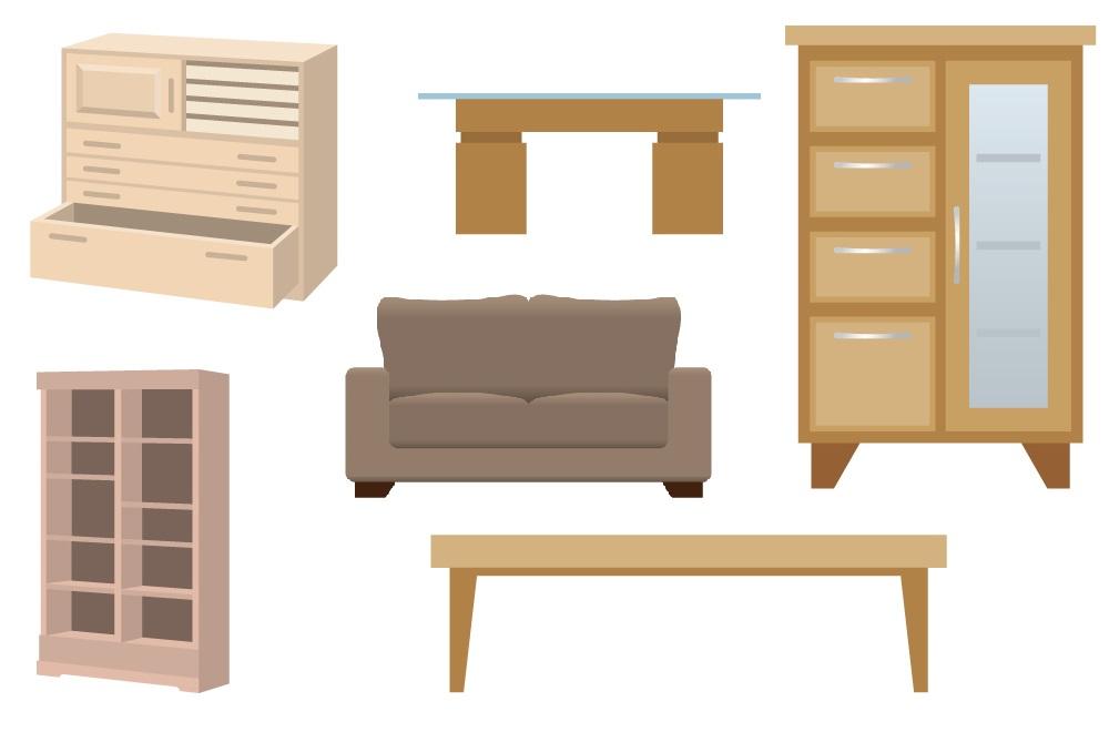 家具の回収・処分・買取