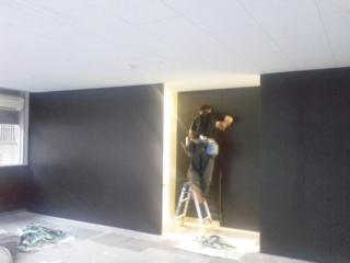 間仕切り壁工事