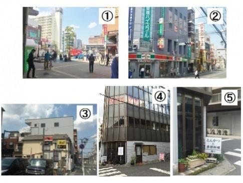 新松戸駅から店舗までのアクセス
