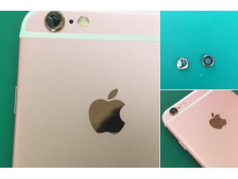 【修理事例:カメラレンズカバー交換】iPhone6s のカメラレンズカバー交換という少々特殊な修理!修理後は写真写りも元通りになりました。カメラレンズカバーの交換は行っていない修理店も多くあります。 当店でしたら対応可能ですので、ご相談ください。