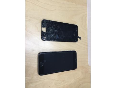 【修理事例:iPhone6 液晶修理:流山市より】画面が割れたまま利用していたらふとした瞬間に画面がつかなくなってしまったそうです。画面が割れたままのご利用は怪我や故障が拡大する可能性があるため早めの修理をオススメします。